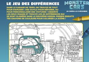 Jeux à imprimer Monster Cars