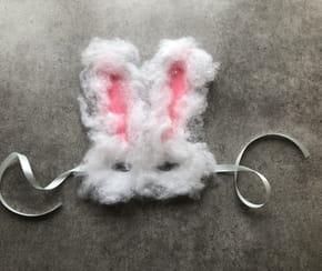 Masque de lapin pour Pâques [VIDEO]