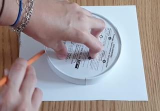 Étape 2: utilisez les papiers pailletés