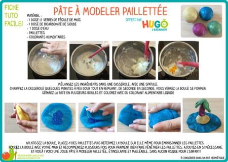 fabriquer-de-la-pate-a-modeler-pailletee-maison