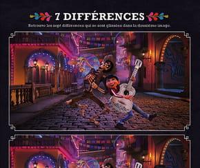 Coco, les différences