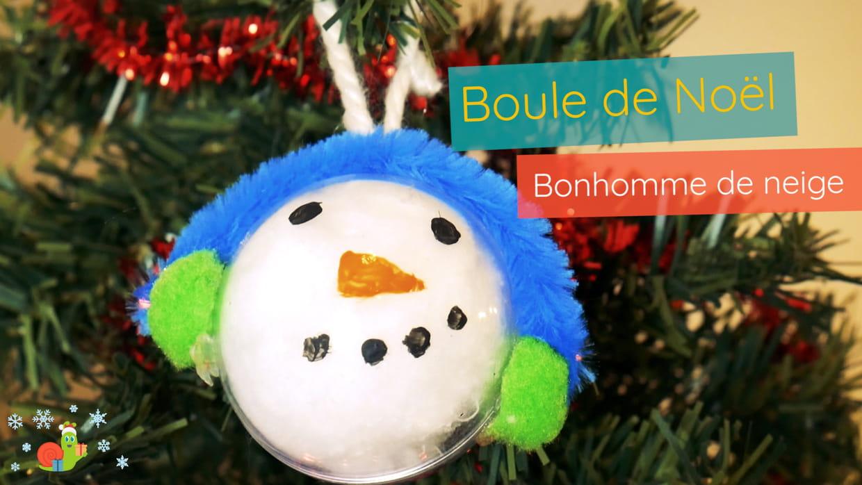 Boule De Noel Transparente A Decorer décoration boule de noël pour les maternelles