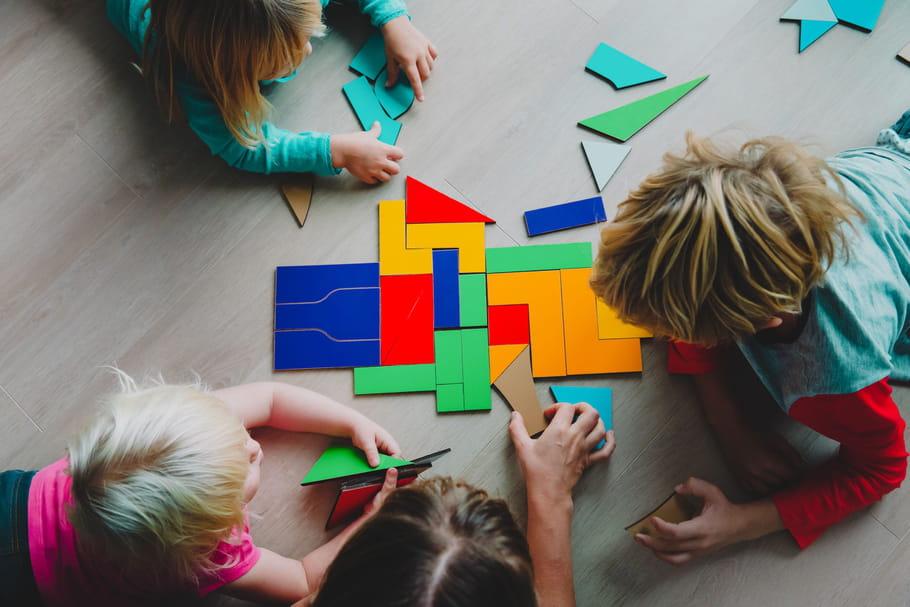 Tangram: un jeu pour réfléchir en s'amusant