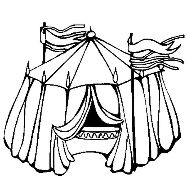 Coloriage a imprimer cirque chapiteau - Coloriage de cirque ...