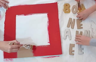 Étape 3: Peignez les éléments du cadre Photobooth
