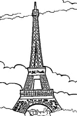 Coloriage La Tour Eiffel