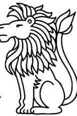 Coloriage Signe du Lion