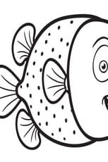 Coloriage Happy Fish
