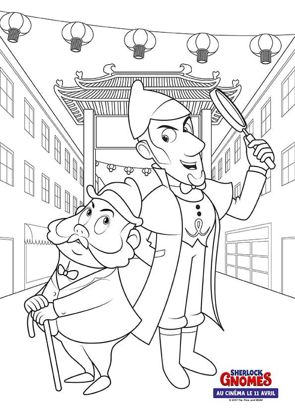 Sherlock Gnomes et Watson en Asie