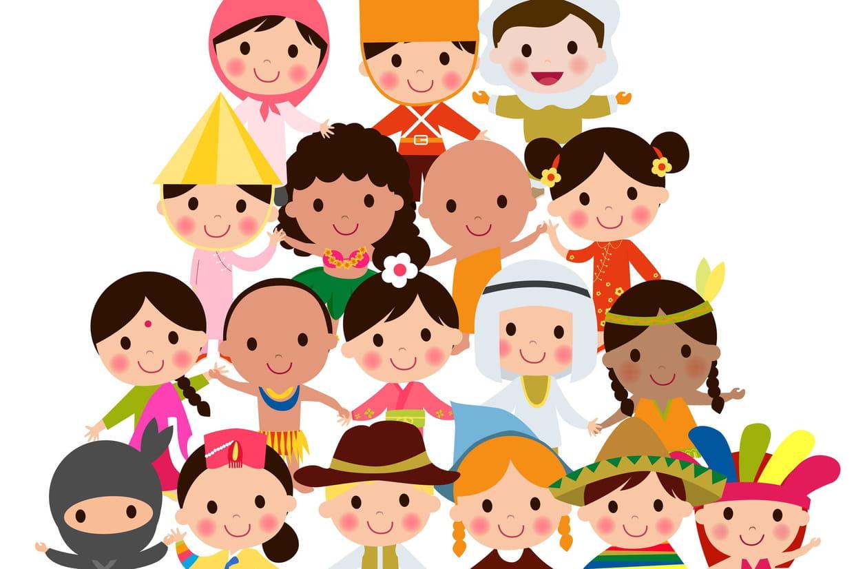 Coloriage Enfants Du Monde Sur Hugolescargotcom