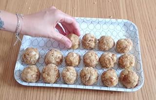 Étape 3: placer les boules dans le congélateur
