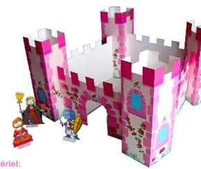Château de princesse à découper