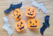 Citrouille en origami pour Halloween, pliage papier [VIDEO]