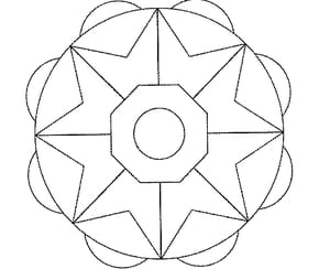 Mandala Facile