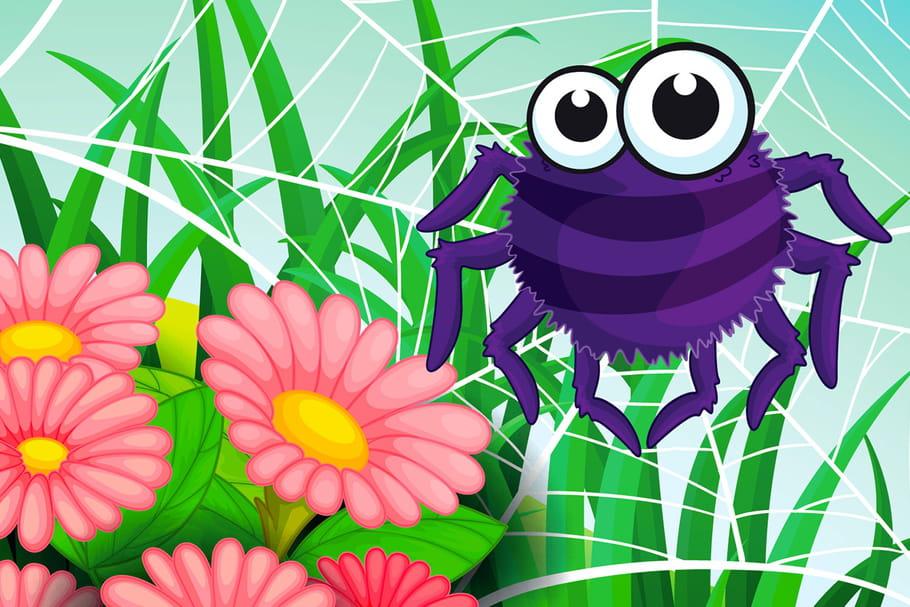Comptine La chanson de l'araignée