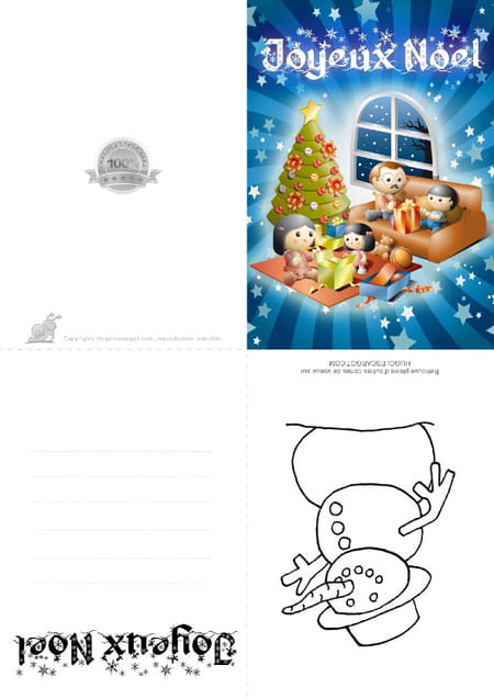 Joyeux Noël momie-Momie Carte de Noël