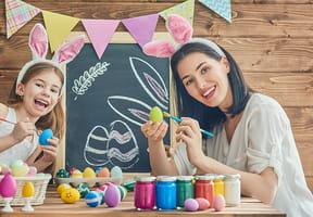 Activités de Pâques: œufs, lapins et bricolages