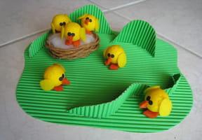 Les poussins de Pâques