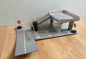 Fabriquer un garage en carton [VIDEO]