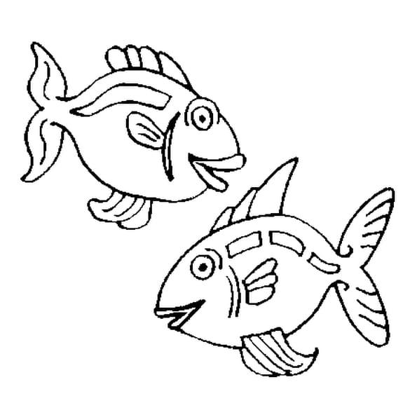Coloriage poissons d 39 avril en ligne gratuit imprimer - Poisson a imprimer gratuitement ...