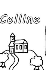 Coloriage Colline en Ligne Gratuit à imprimer