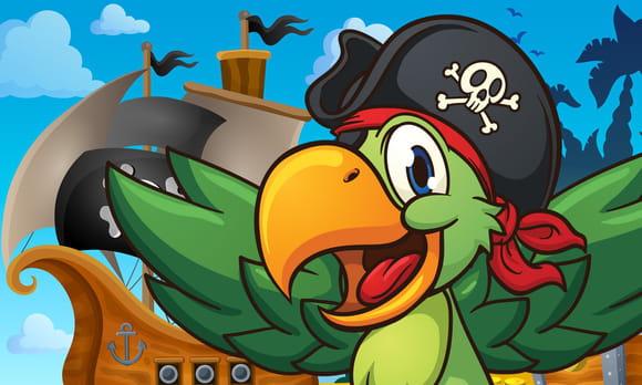 Perroquets de pirates