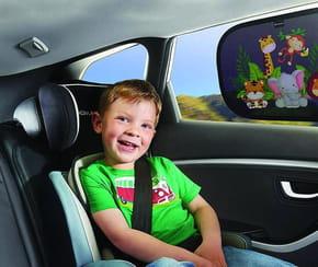Quel pare-soleil pour protéger votre enfanten voiture?