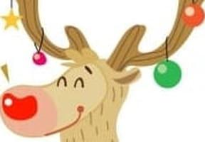 Dessiner un renne du père Noël