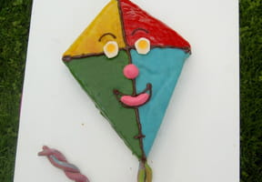 Gâteau d'anniversaire Cerf-Volant