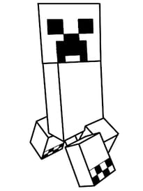 Le creeper de Minecraft
