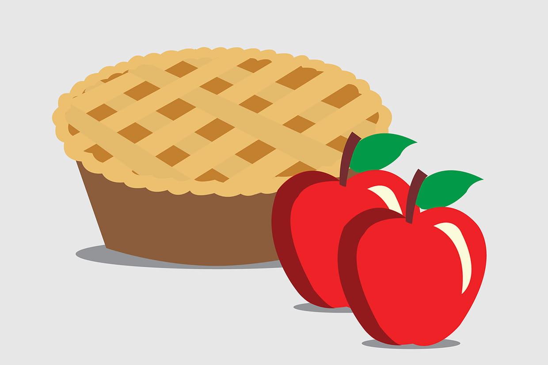 Coloriage tarte sur - Dessin tarte aux pommes ...