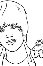 Coloriage Bieber Justin