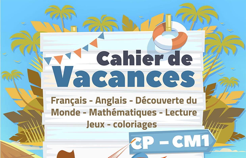 Souvent Cahiers de vacances gratuits à imprimer sur Hugolescargot.com QI43