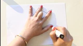 Etape 1: la position des doigts