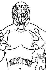 Coloriage Catch rey Mysterio