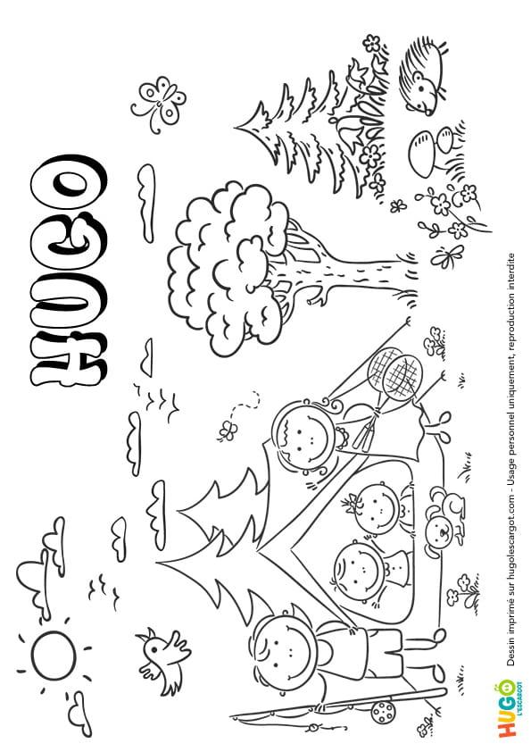 Hugo prénom de garçon version1