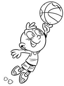 Activité enfant le Basket