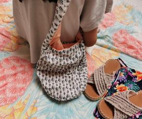 Coudre un sac de plage