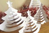 Sapins de Noël en papier [VIDEO]