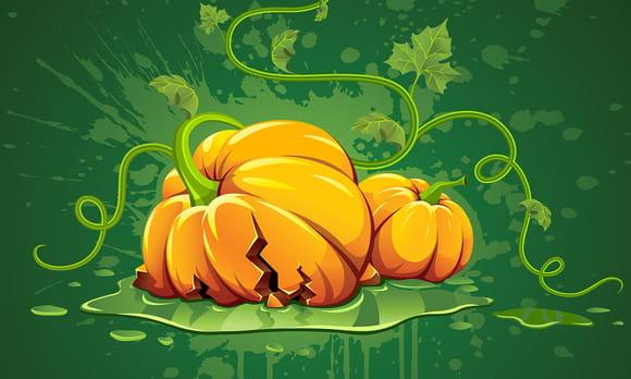 Coloriages Citrouilles d'Halloween