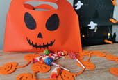 Panier à bonbons Halloween