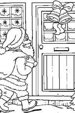 Coloriage Papa Noël