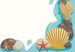 Papiers à lettres Mer et vacances