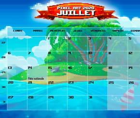 Pixel Art: calendrier2020