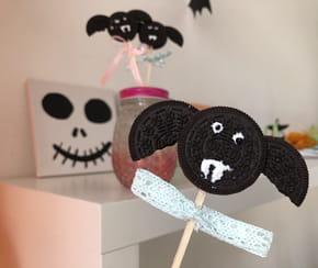 Recette Oreo chauve-souris pour Halloween