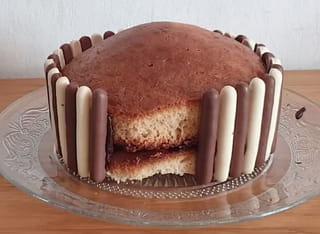 Étape 2: réalisation du bord du Gravity Cake