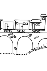 Coloriage Train