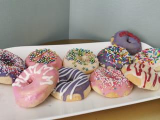 Vos donuts sont prêts à être dégustés