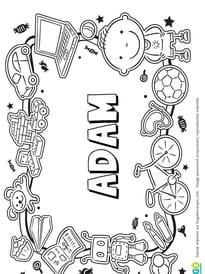 Adam prénom de garçon version 3