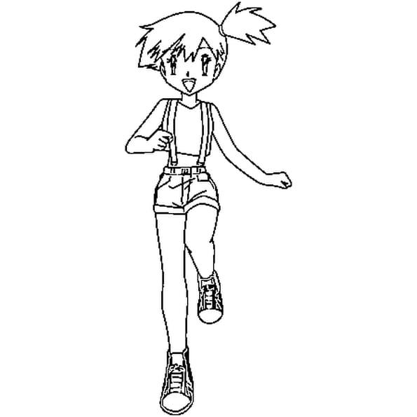 Dessin ondine Pokémon a colorier